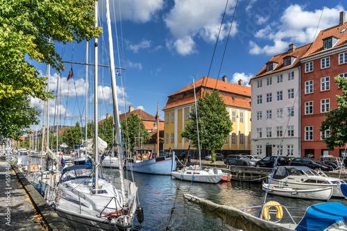 Christianshavn in Copenhagen Poster