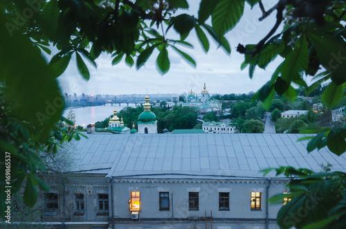 Fotobehang Kiev View of the Kiev Pechersk Lavra, Ukraine, Europe