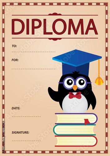 Papiers peints Enfants Diploma concept image 9
