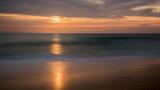 sunset seignosse aquitaine france