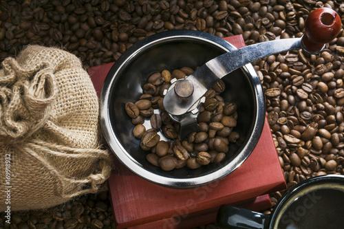 Papiers peints Café en grains Fragrant coffee beans