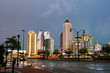 Illuminated Midtown in Atlanta, USA at night