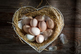Lovely free range eggs from the farm - 169947367