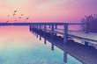 Steg am Meer, Romantik