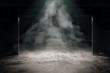 Leinwandbild Motiv Grungy dark interior