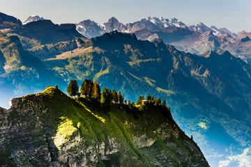 Berge und Alpen im Berner Oberland, Schweiz
