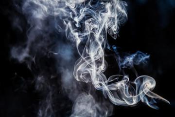 Cigarette smoke.