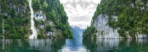 Foto op Canvas Bergen #090109701