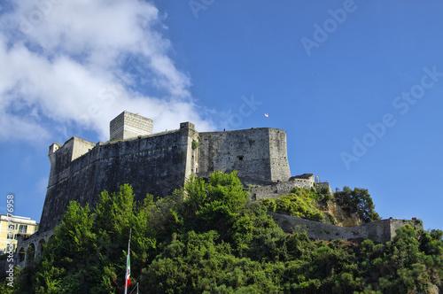 The Castello di Lerici, Liguria region, Italy Poster