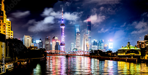 Fotobehang Shanghai Shanghai 1
