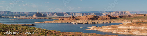 Fotobehang Arizona Lake Powell panorama