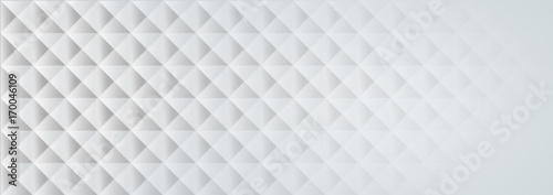 geometric white texture on a white background. - 170046109