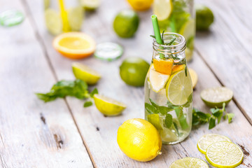 Healthy vitamin-fortified water