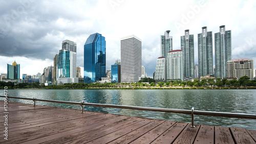 Fotobehang Bangkok cityscape of bangkok city , landscape Thailand