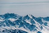 Winter mountain landscape. Krasnaya Polyana, Sochi, Russia - 170067992