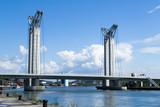 Pont Levant en  aval de Rouen
