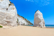 Quadro Beach of Pizzomunno  white rock