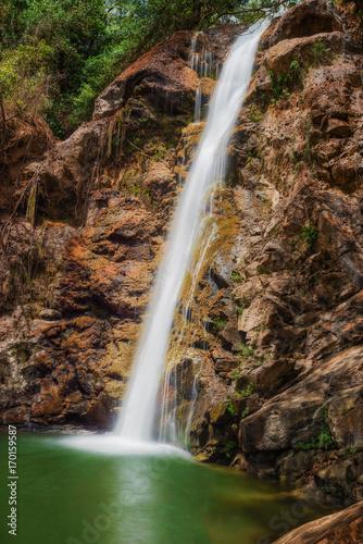 El Salto waterfalls near Las Minas in Panama