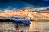 Sunset landscape over Zambezi river - 170160764