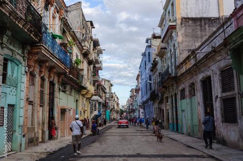Fotobehang Havana Havana Street
