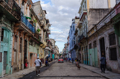 Papiers peints La Havane Havana Street