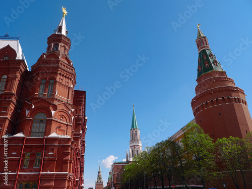 Fotobehang Moskou Red Square in Moscow