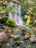 Waterfalls and creeks under long exposure