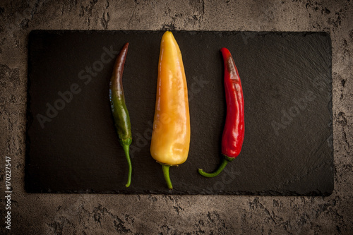 Fotobehang Hot chili peppers Peppers
