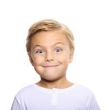 Happy little boy portrait