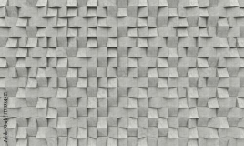 3d concrete geometric background - 170234501
