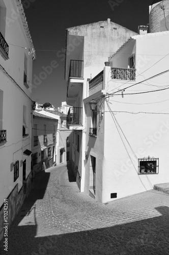 Fotobehang Smalle straatjes Espagne Andalousie