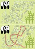 Panda maze