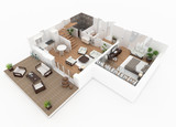1 floor of furnished house apartment loft - 170291599
