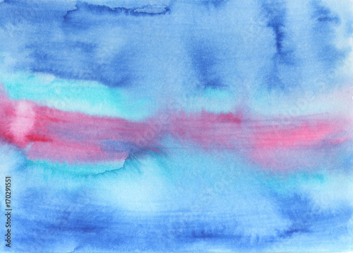 Abstract watercolor background - 170291551