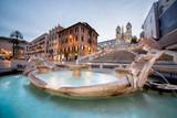 Beautiful Piazza di Spagna in Rome - 170323990