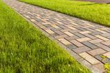 Colorful cobblestone road pavement - 170326558