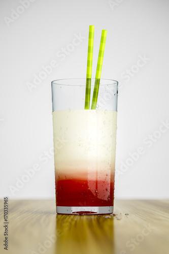 banana cherry drink