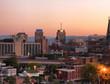 Syracuse at dusk
