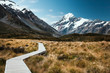 Hooker Valley Track and Mount Cook