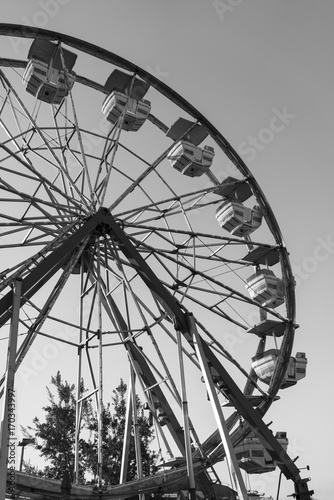 Plakat Ferris wheel at a carnival