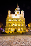 Town hall of Poznan during the night, Poland