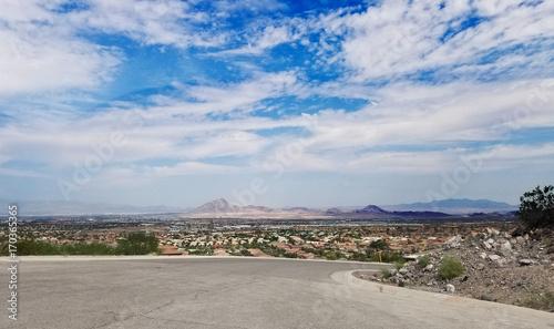 Deurstickers Las Vegas Nevada Cityscape