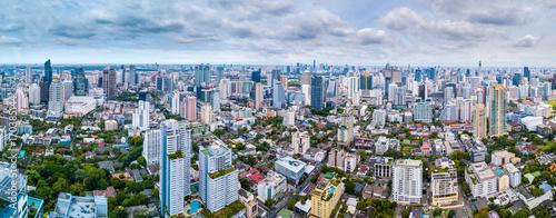 Aluminium Bangkok Bangkok urban panorama