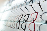 Eyeglasses frames in optical store. - 170425593