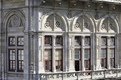 Poster Wien, Fenster der Staatsoper