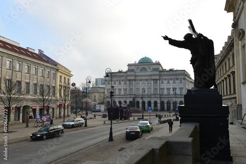 Foto op Canvas Milan Trip to Warsaw, Poland, Europe