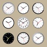 Set of office clock icon design - 170468906