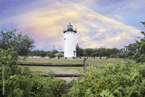 Fotobehang Vuurtoren The East Chop Lighthouse