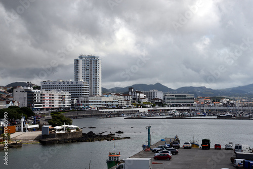 Foto op Plexiglas London Forte de Sao Brás in Ponta Delgada (Azoren)