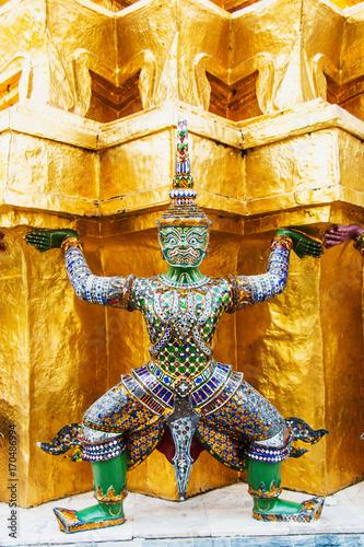 Fotobehang Bangkok Grand Palace in Bangkok, Thailand